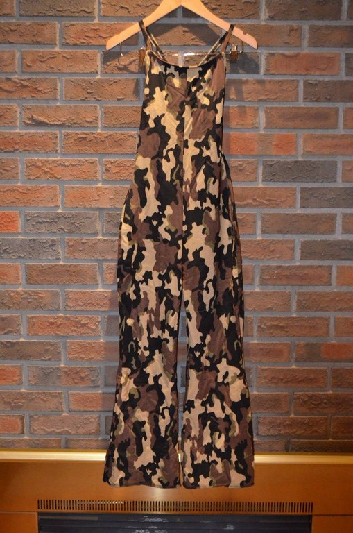 For Rent Item 044. Camouflage overalls/pantsuit; size: senior.